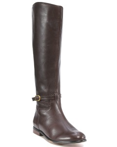 corso como, racine boot, knee high boot, chocolate boot