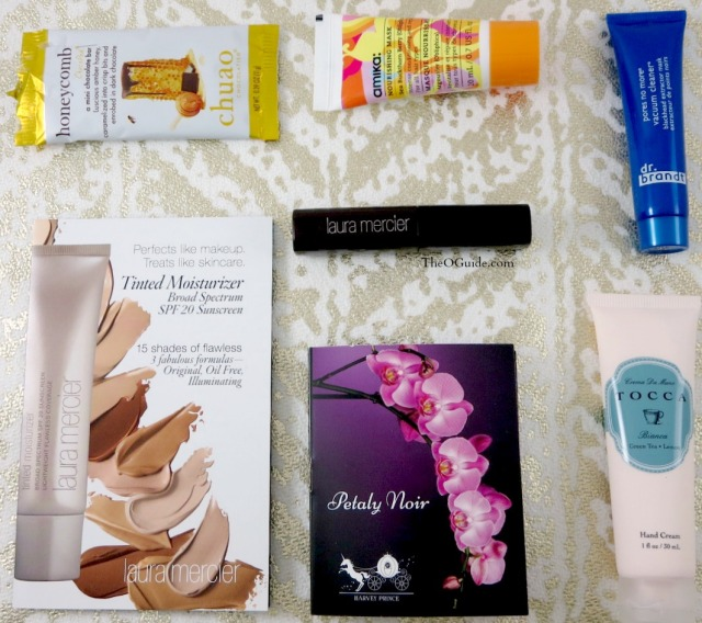 November Birchbox samples