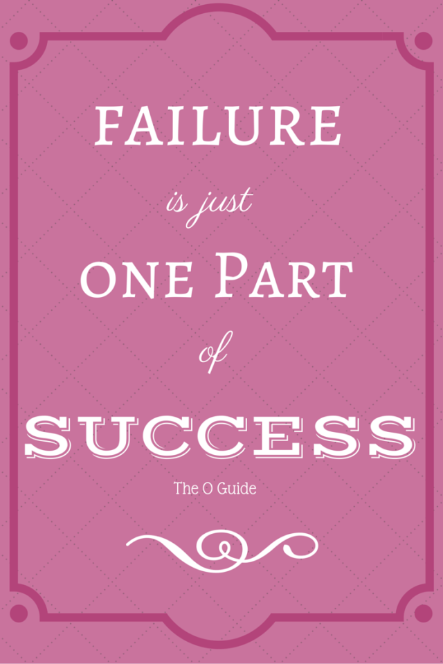 failure, success, The O Guide