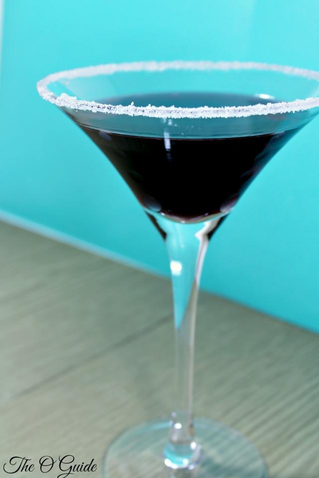 Midnite Berry Martini Blue