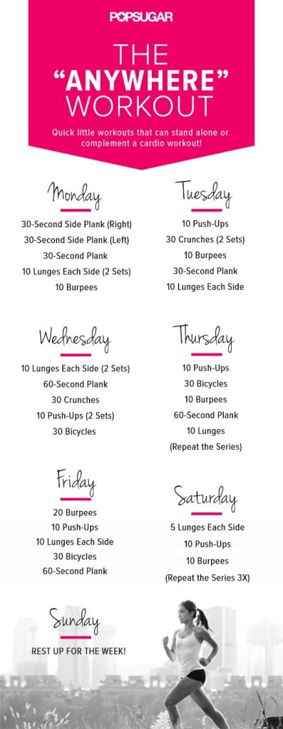Popsugar workout