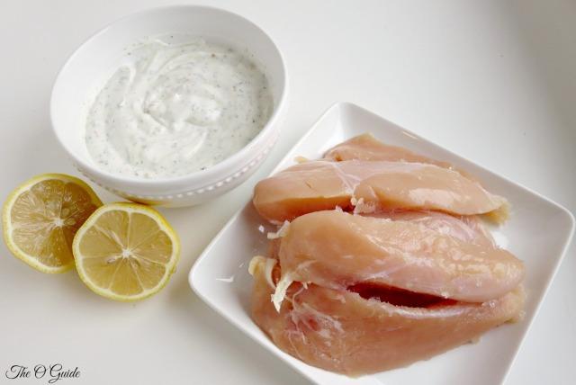 Yogurt Greek Chicken