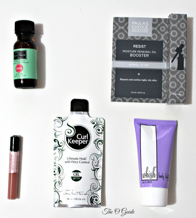 Birchbox Products January