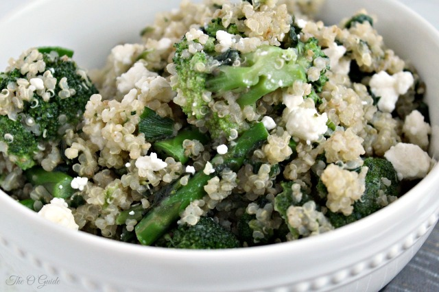 Garlic and Greens Quinoa