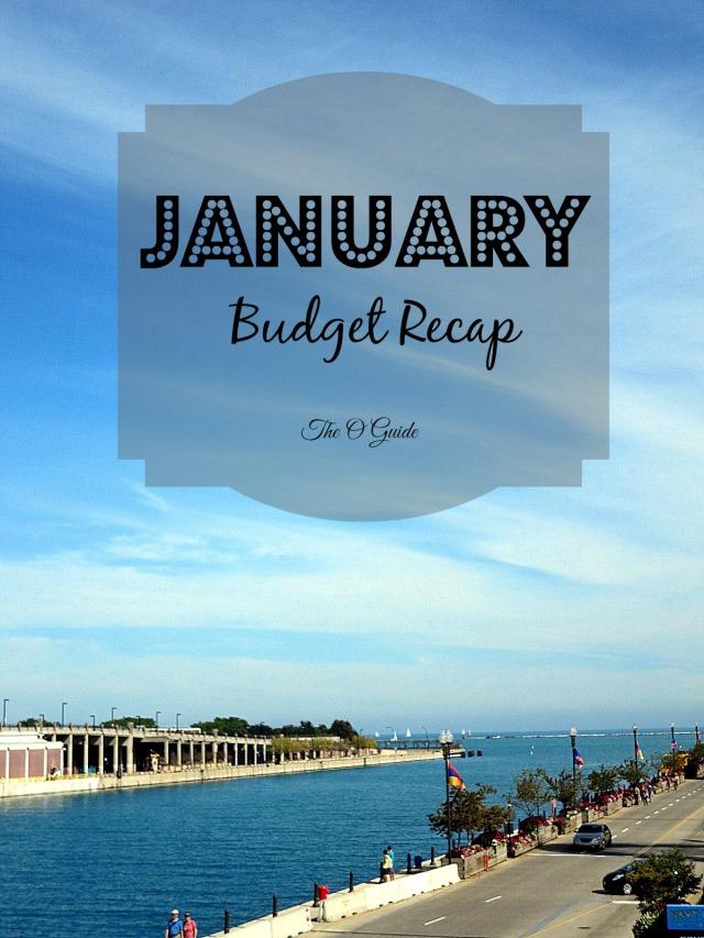 January Budget Recap