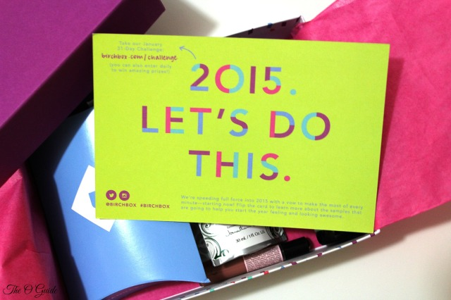 Lets Do This Birchbox