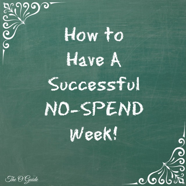 No Spend Week