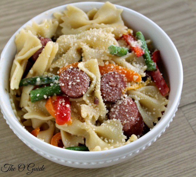 Sausage and Peppers Pasta